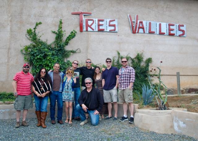 Tres Valles, Valle de Guadalupe, Baja California, Mexico